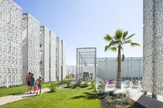 Jacques Ferrier Architectures, Nakâra Residential Hotel, Cap d'Agde, France