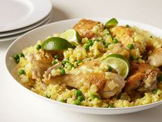 Easy way to start cooking whole cut-up chickens in one pot. Thanks Mark Bittman! Chicken and Rice