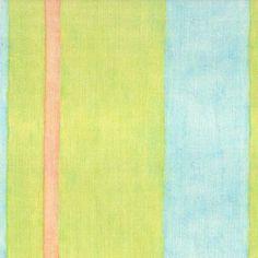 Watercolor Pascal Springtime. Available printed on linen, cotton, cotton linen blends. © Ellen Eden