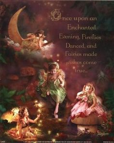 Once upon an Enchanted Evening. Fireflies Danced, and Fairies made wishes come true...
