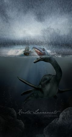 """Sea monster accounts are found in virtually all cultures that have contact with the sea. For example, Avienus relates of Carthaginian explorer Himilco's voyage """"...there monsters of the deep, and beasts swim amid the slow and sluggishly crawling ships."""" (lines 117-29 of Ora Maritima)."""