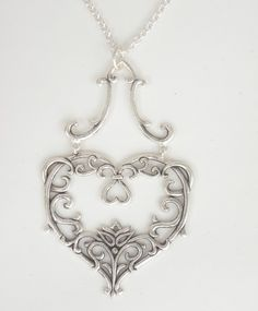 Lotus Heart Necklace - Sonja Picard