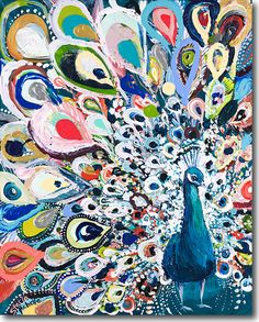 Peacock Rainbow - SkylineArtEditions.com