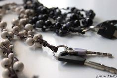 DIY: avainnauha helmistä