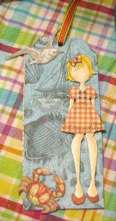 prima doll tag by Carol B.