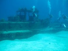Underwater Ship Wreck - Cayman Islands
