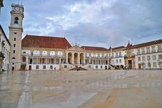 University of Coimbra Places Around The World, Around The Worlds, Coimbra Portugal, Portugal Travel, Places Ive Been, Mansions, Architecture, House Styles, Building