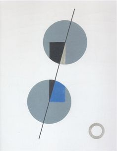 Sophie Taeuber Equilibre / Balance Huile sur toile / Oil on canvas 32 x cm 1931 Sophie Taeuber, Sacred Geometry, State Art, Symbols, Fine Art, Shapes, Modernism, Abstract, Classic