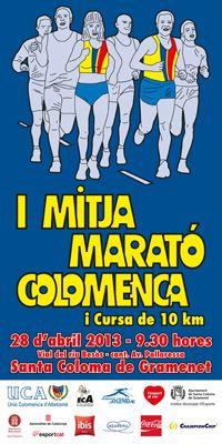 I Mitja Marató Colomenca i Cursa de 10 km