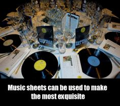 Music Themed Decor