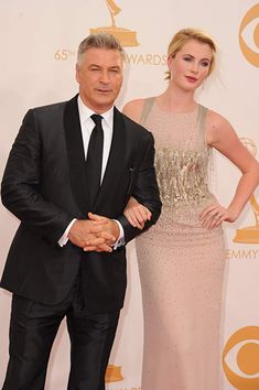 Alec Baldwin took model daughter Ireland, as his date to the Annual Primetime Emmy Awards, mother is actress Kim Bassinger Daughters Day, Daddy Daughter, Daddys Little Girls, Daddys Girl, Celebrity Kids, Celebrity Pictures, Beautiful Family, Beautiful People, Family Affair