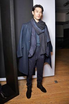 """theasianmalemodel: """" Yusuke Ogasawara for Eidos FW16   New York Fashion Week """""""