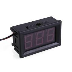 >> Click to Buy << Digital DC Red LED Display Voltmeter Panel Voltage Volt Meter Gauge 2 Wire #Affiliate