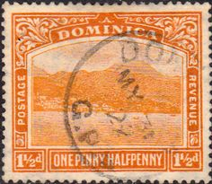 Dominica 1923 King George V SG 71 Fine Mint Scott 65 Other Dominica Stamps HERE