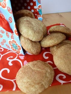 #Glutenfree #Dairyfree Snickerdoodles.  One of our family's favorites!  #GFCF