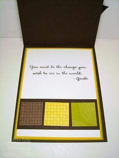 Novel inside of a card