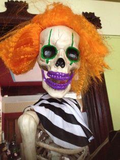 Fabulous Grandin Road Clown Skeleton 5 Ft Pose   Stay  RiotLifesize Mummy Head by Martha Stewart for Grandin Road Retired New  . Martha Stewart Halloween Costumes Grandin Road. Home Design Ideas