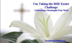 Easter Challenge from Becoming His Eve