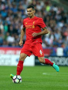 Dejan Lovren during a friendly match between Liverpool and Huddersfield Town on July 20, 2016...