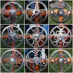 All sizes | Bicycle Chainwheels | Flickr - Photo Sharing!