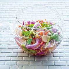 漬けてすぐにサラダのようにシャキシャキいただけます。和洋どちらにも合う箸休めに。