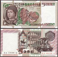 Collezione Personale di Banconote Italiane: 0.2.1. - 5000 LIRE A. DA MESSINA