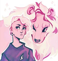 Pink Lars and Lion<<<<<<OH MA GOD THIS IS AWESOME