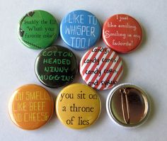 Buddy the Elf Quotes Pins