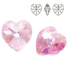 6228 Xilion Heart 14mm Light Rose AB Dimensions: 14,4x14,0 mm Colour: Light Rose AB 1 package = 1 piece Heart Earrings, Stud Earrings, Hanging Crystals, 1 Piece, Swarovski Crystals, Abs, Light Rose, Jewelry, Beautiful Hearts