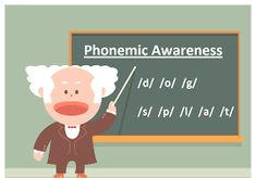 Phonemic awareness is the oral language element of phonics. Students are able to demonstrate their phonemic awareness when they blend sounds together to make words, separate words into individual sounds, or change sounds within words. Phonemic Awareness Kindergarten, Phonological Awareness, In Kindergarten, Teaching Activities, Teaching Strategies, Differentiation Strategies, Balanced Literacy, English Language Learners, Language Arts