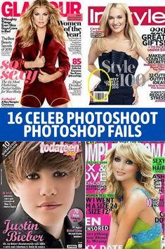 Funny Photoshop Fails, Photoshop 4, Funny Fails, Apps Like Snapchat, Celebs, Celebrities, Beauty Secrets, Fun Nails, Celebrity