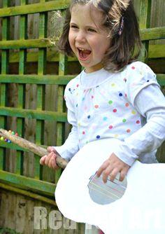 Handmade Guitar for Kids