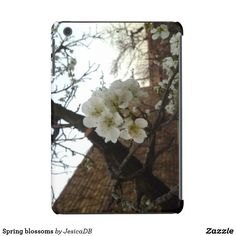 Spring blossoms iPad mini case