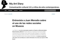 Entrevista de Marta Lorenzo a Juan Merodio sobre redes sociales y museos