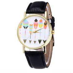 2017 hot sale luxury fashion PU leather Vansvar watches candy color quartz watch Brand factory prices Women Men Reloj Relogio