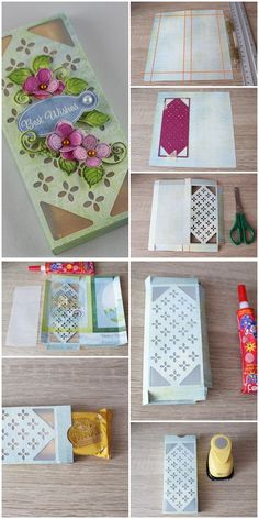 create these two elegant gift boxes perfect for many occasions where you want to give the gift of chocolate!  Beautiful gift boxes for favors for weddings! Chocolate Gift Boxes, Beautiful Gift Boxes, Paper Cutting, Card Stock, Lilac, Favors, Paper Crafts, Weddings, Elegant