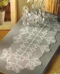 Hey, I found this really awesome Etsy listing at http://www.etsy.com/listing/64869779/crocheted-table-runner-romance