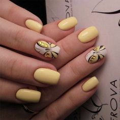 30 Butterfly Nails Art Provide The Nails A Fantastic Appearance butterfly drawing;butterfly birthday party;butterfly nails art;butterfly nail designs; yellow nails Butterfly Nail Designs, Butterfly Nail Art, Butterfly Drawing, Pedicure Designs, Toe Nail Designs, Spring Nails, Summer Nails, Semi Permanente, Yellow Nail Art