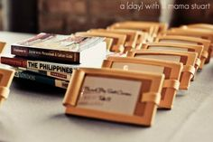 a {day} with lil mama stuart: Travel Themed Wedding - DIY Details