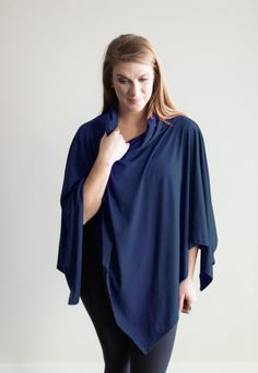 pre-sale* Layer Cake 3-in-1 Dress Poncho – twilight (ships in 2 to 4 weeks)  $78.00    Our Layer Cake 3-in-1 dress poncho is your secret weapon when transitioning from winter to spring. The soft bamboo/cotton jersey fabric feels heavenly on your skin and can be worn all year round. It's no wonder this is our top-seller! By far the best thing you will bring on holidays with you! Comfortable Outfits, Fall 2016, Weapon, Heavenly, Twilight, Bamboo, Feels, Layers, Ships