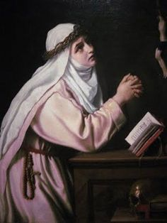 |April 29 – Happy Feast Day of St Catherine of Siena – Stigmatist #pinterest The value Catherine makes central in her short life and which sounds clearly and consistently through her experience is complete surrender to Christ. What is most impressive about her is that she learns to view her surrender to her Lord as a goal to be reached through time. She was the 23rd child of Jacopo and Lapa Benincasa and grew up as an intelligent, cheerful and intensely religious person. Catherine…