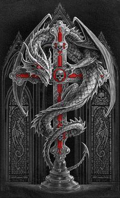 Dragon metalico