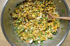 For our July 4th taco extravaganza I decided to really go all out and serve corn on the cob, Mexican ...