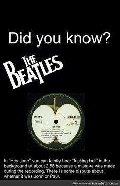 Reasons to love the Beatles. I already knew this, but I must share the awesomeness.
