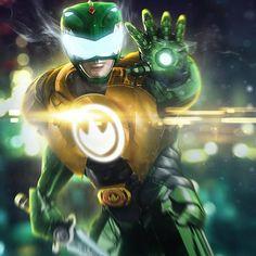 Reimagined Green Power Ranger