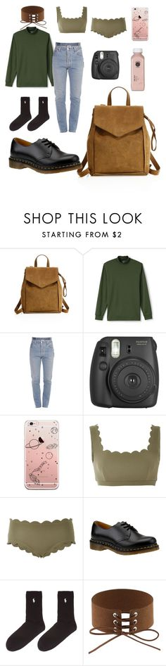 """Sans titre #182"" by sherazadine ❤ liked on Polyvore featuring Loeffler Randall, Lands' End, Vetements, Fujifilm, Marysia Swim, Dr. Martens and Polo Ralph Lauren"