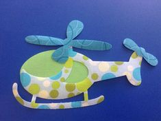 DIY Iron on Applique - - - - -Iron on applique - - - Helicopter