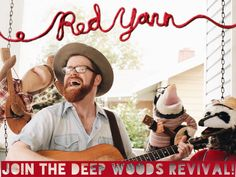 """Red Yarn """"Deep Woods Revival"""" Album ** Follow me on www.MommasBacon.com **"""