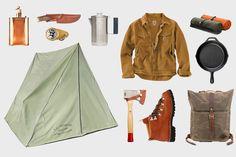 Old School Vintage Camping Gear