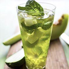 Cucumber & Melon White Sangria